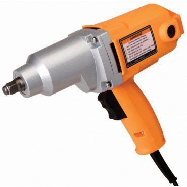"""1/2"""" Electric Impact Wrench - 1/2"""" Electric Impact Wrench produces up to 240 ft. lbs. of torque to easily tighten or remove fasteners Our 1/2"""" drive electric impact wrench has a 7 amp motor to fasten or remove fasteners without a lot of work. Include"""