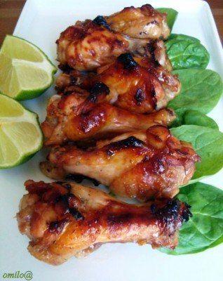 Куриные крылышки по-гавайски с лаймом / Вкусные привычки