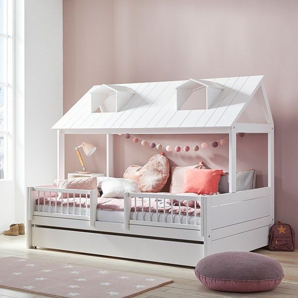 Luxury White Bed With Roof Luxurywhitebed Childrens Bedroom Furniture Childrens Bedroom Furniture Sets Kids Double Bed