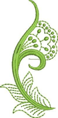 Folk Art Batik Embroidery 9  Susa Glenn Machine Embroidery Machine Embroidery