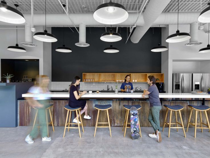 Image Result For Industrial Office Space Ideas Kitchenette