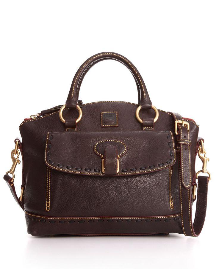 Dooney & Bourke Handbag, Florentine Vachetta East West Pocket Satchel