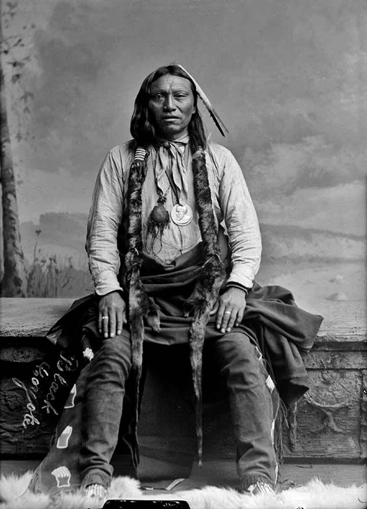 Cheyenne Chief Black Coyote 1891