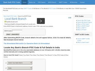 Find MICR Codes of any bank in India: http://www.bankswiftifsccode.com/search-micr-code.php