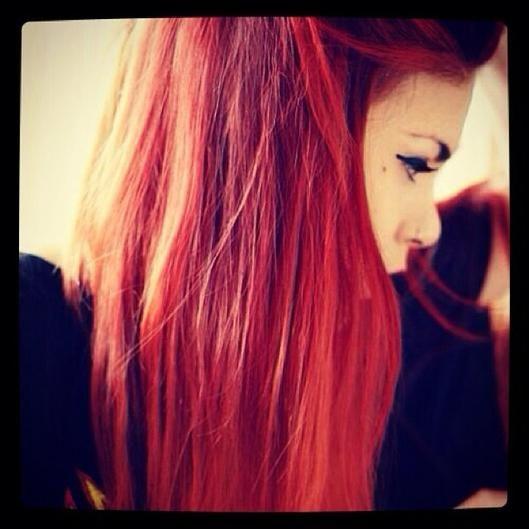 Instagram Insta-glam: Fiery Red Hair   Beauty High