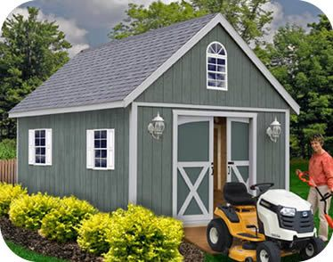 ezup sheds | Best Barns Belmont 12'W x 24'D Wood Storage Shed Kit - Or Cabin backyard shed or convert to garage or makes a cool workshop or tiny house