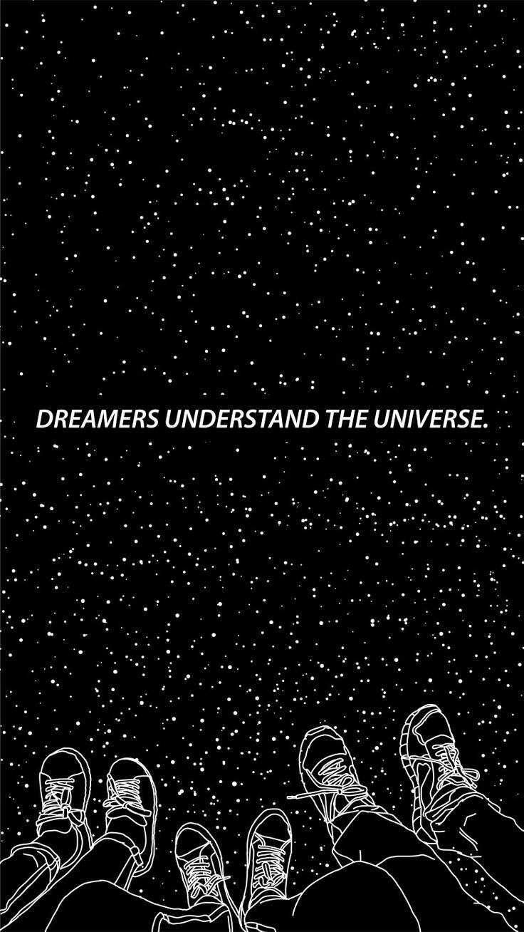 * dreamers understand the universe * A starry night phone wallpaper by Shantanu Pathak #iphone #wallpaper