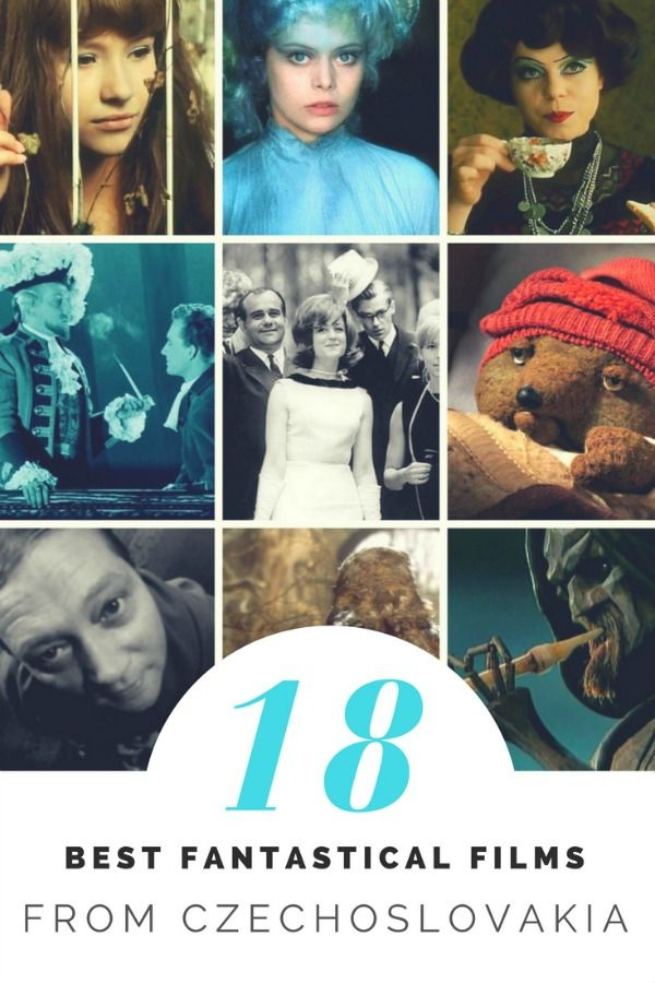 European fairy tales / best fantastical films from czechoslovakia http://www.celluloiddiaries.com/2017/03/best-fantastical-films-czechoslovakia.html