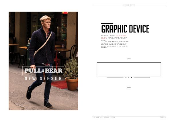 Pull&Bear Brand Manual on Behance