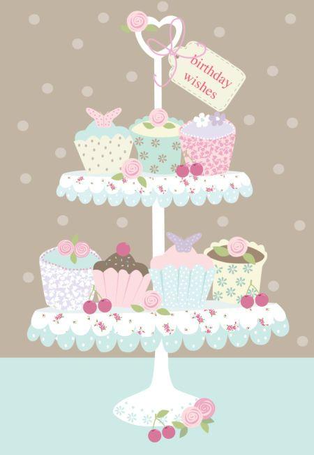 Martina Hogan - HAPPY BIRTHDAY CUPCAKES.jpg                                                                                                                                                                                 More