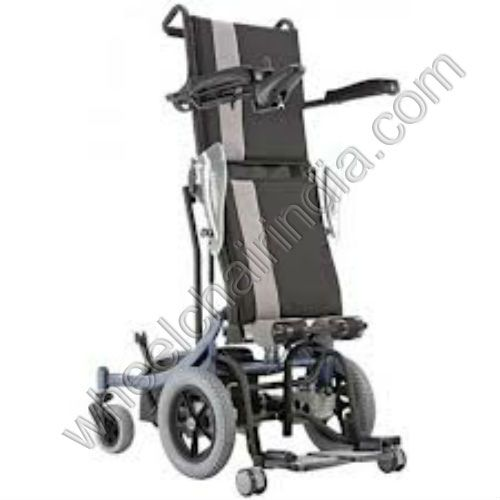 "Karma Healthcare Nimble KP 10.3 Powered Wheelchair is the most economic power wheelchair without sacrificing safety & durability. The patented S-Ergo system promotes pressure redistribution, reduces downward sliding & helps maintain good posture. Ergonomic seat system provides comfortable seating. Tool-free disassembled into 3 parts for traveling & transportation.  KP 10.3 Wheelchair S is the new ""Karma KP 10.3 S"" is a lightweight, compact, maneuverable power chair which now incorporates…"