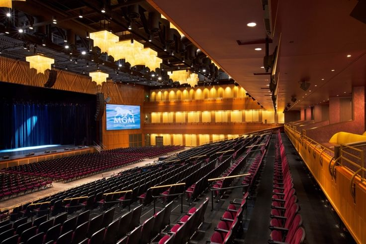 Mgm National Harbor Seating Chart In 2020 Theater Seating Seating Charts Mgm