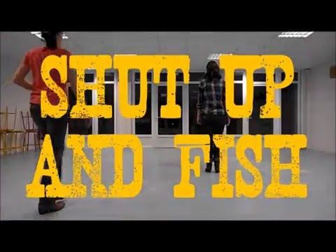 """Shut up and fish"" Chore :Montana Mag Stepsheet : http://countryagogo.free.fr/ Music : Maddie & Tae. #LineDance"
