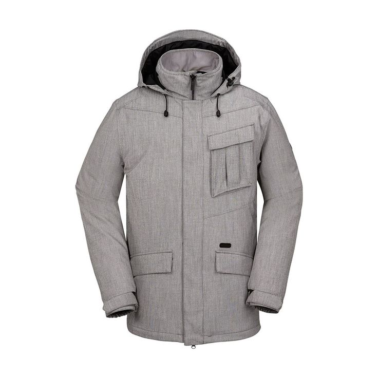 Volcom Mens Snowboard Jacket Mails Insulated