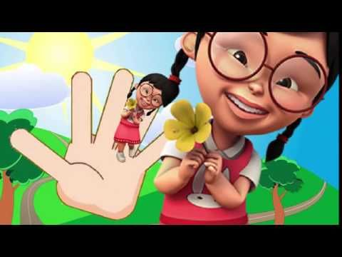 Finger Family upin ipin finger family song | Daddy Finger Popular Nurser...