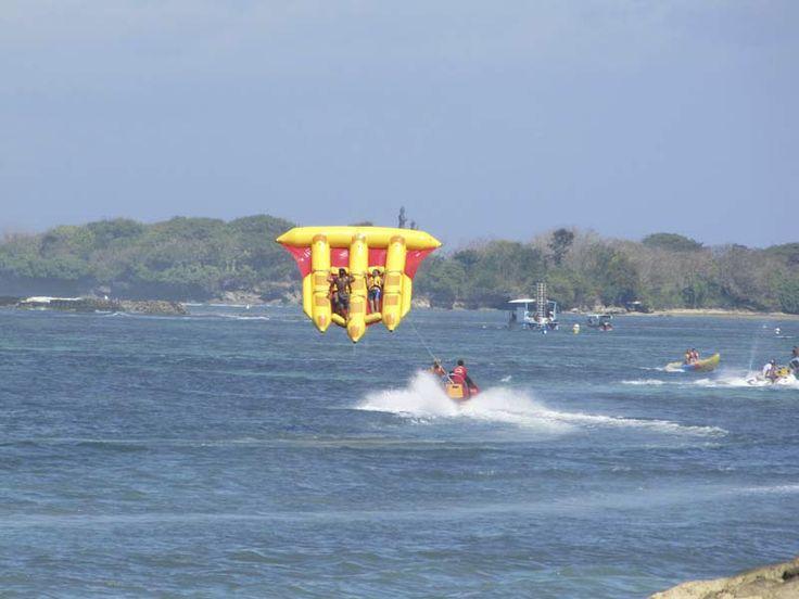 Take off in Sanur