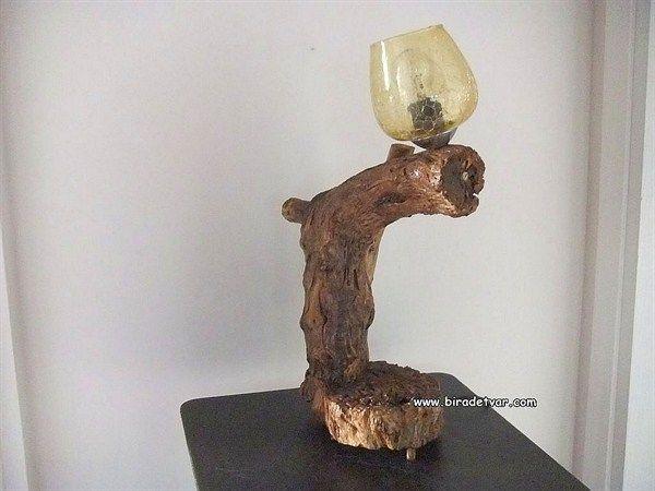 Zek-oo4 Wood Design Lamp - info@biradetvar.com