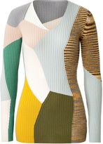 Missoni cashmere geometric print pullover