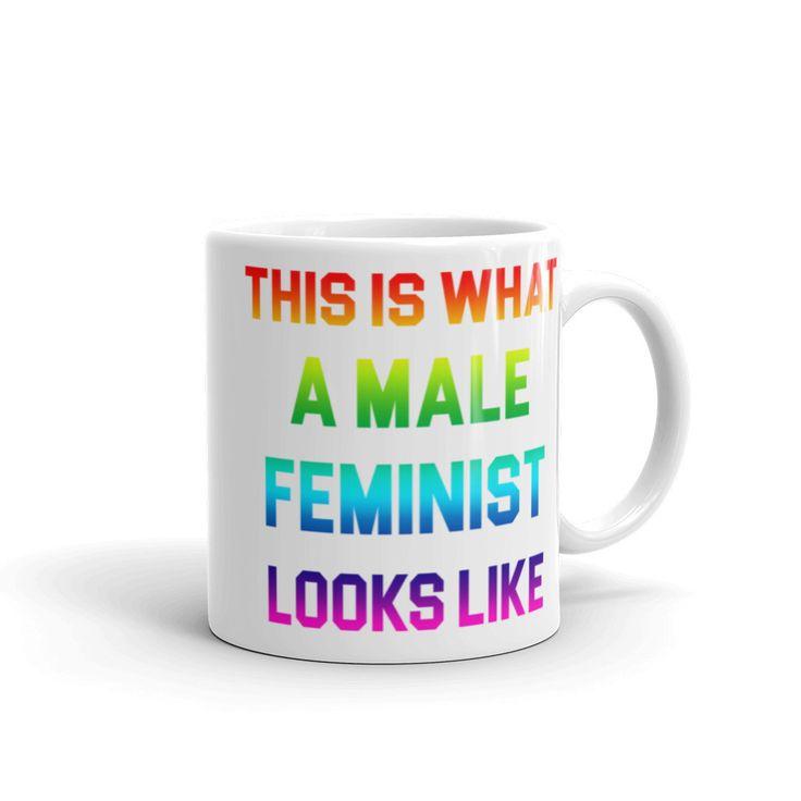 LGBTQ Male Feminist Coffee Mug