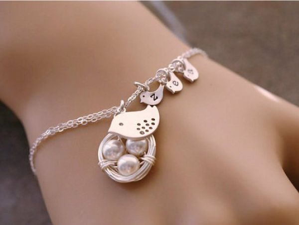 bracelet, family, birds, happy family, família feliz, pulseira