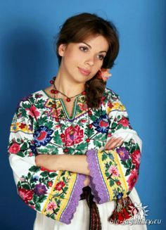 -Personal Appearances-  Above is a Vyshyvanka it is the national  outfit that is either a blouse or shirt with one or more embroidered regional patterns. Elderly women and younger women wear these on special occasions. You can see women wearing a vyshyvanka during holidays, weddings, and festivals.