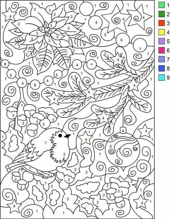 162 besten Invierno Navidad colorear 2 Bilder auf Pinterest ...