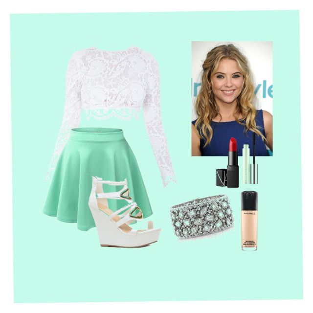 """""""Party outfit 2"""" by makayla-simpson on Polyvore featuring Stone_Cold_Fox, Clinique, NARS Cosmetics, MAC Cosmetics and Mark Broumand"""