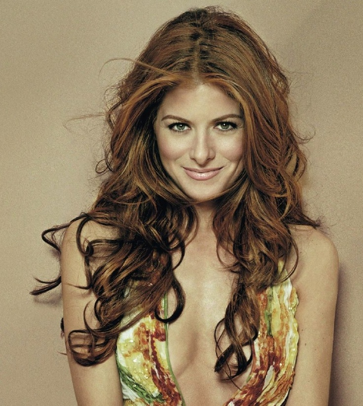Debra Messing -- love the length, curls & color