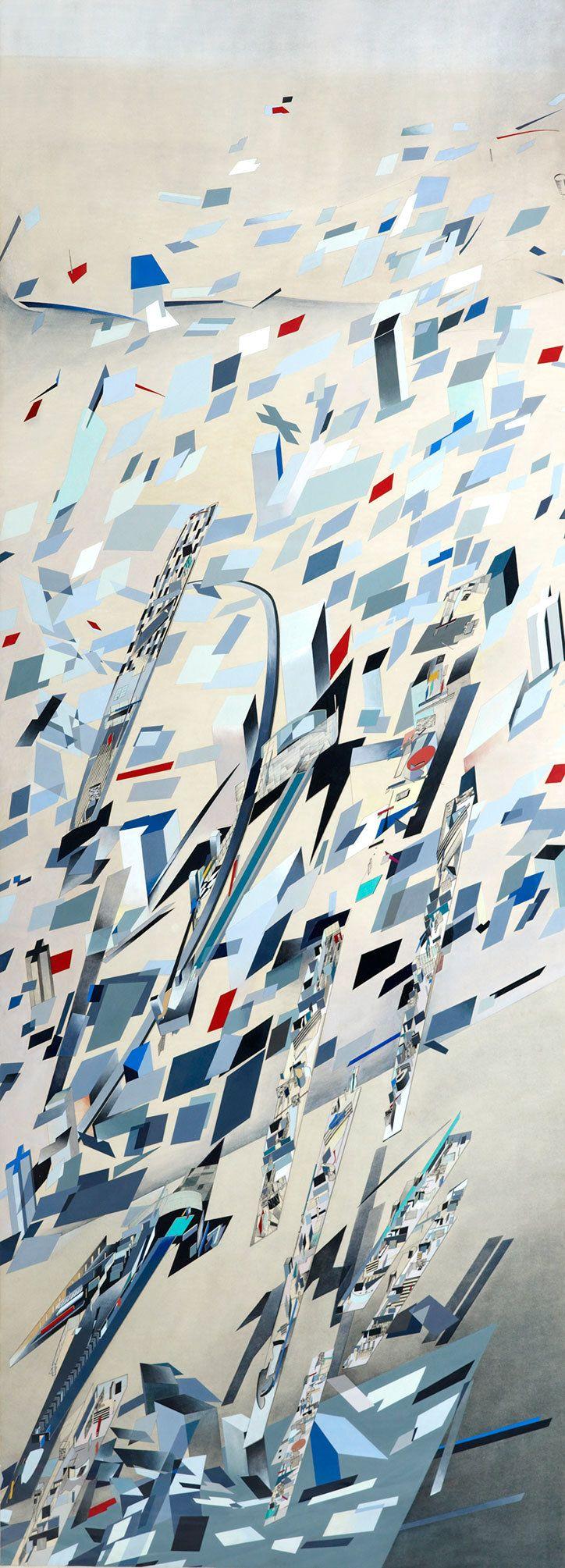 Zaha Hadid: Confetti (The Peak, Hong Kong, 1982 – 1983)