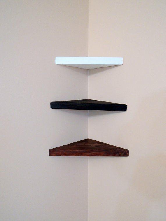 Corner Shelf Storage In 2020 Corner Shelves Glass Corner Shelves Shelves