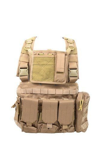 MOLLE StrikeForce Airsoft Modular Chest Rig (Tan) by Diamond. $78.95. The NEW Diamond Tactical MOLLE RRV Tactical Chest Rig is one of the best chest rigs we carry, with its very comfortable and lightweight design as well as its sturdy construction.  The Diamond Tactical RRV Chest Rig offers a large amount of MOLLE space for customizing the chest rig to your specific needs.  It is also one of the most versatile chest rigs available, and can be configured in a nu...