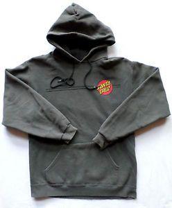 Vintage late 90s Mens Size S-M NHS Santa Cruz Skateboards Hoodie, Powell Peralta $49.99