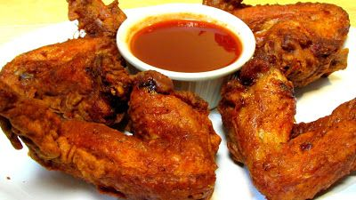 The Wolfe Pit: Chinese Chicken Wings with Mumbo Sauce - Chinese Food