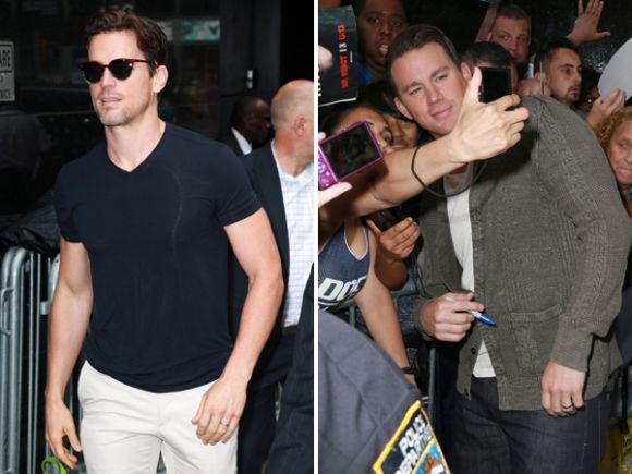 Matt Bomer And Channing Tatum Talk 'Magic Mike XXL' At 'Good Morning America'