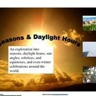 $ This is a series of four lessons/activities on the seasons, solstices, and equinoxes.  They can be taught all together, or on each of those days.  ...