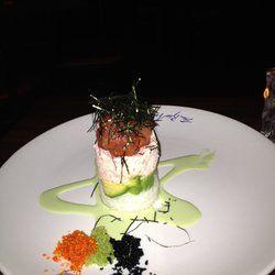 The Blue Fish - Houston, TX, United States. Ahi Tuna Appetizer
