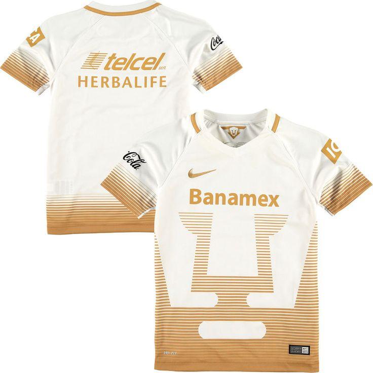 Pumas de la UNAM Nike Youth Home Stadium Jersey - White