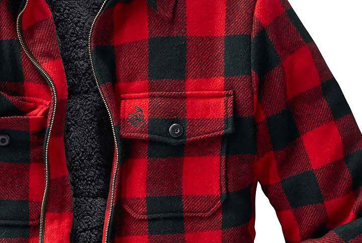 Legendary Whitetails The Outdoorsman Buffalo Jacket