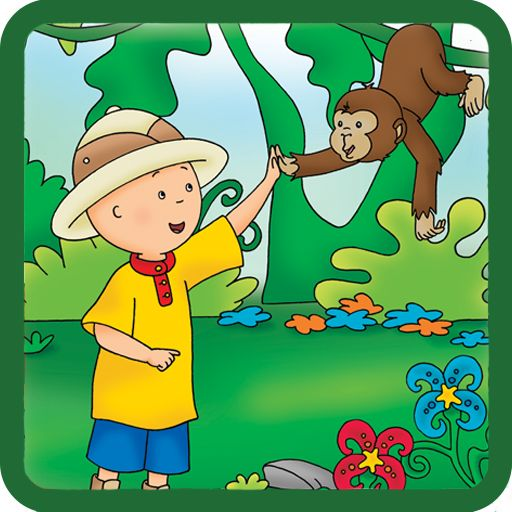 NATURE & OBJECTS - LEARN WITH CAILLOU