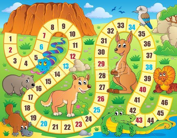 Stockfoto: Bordspel · afbeelding · hond · natuur · ontwerp · berg