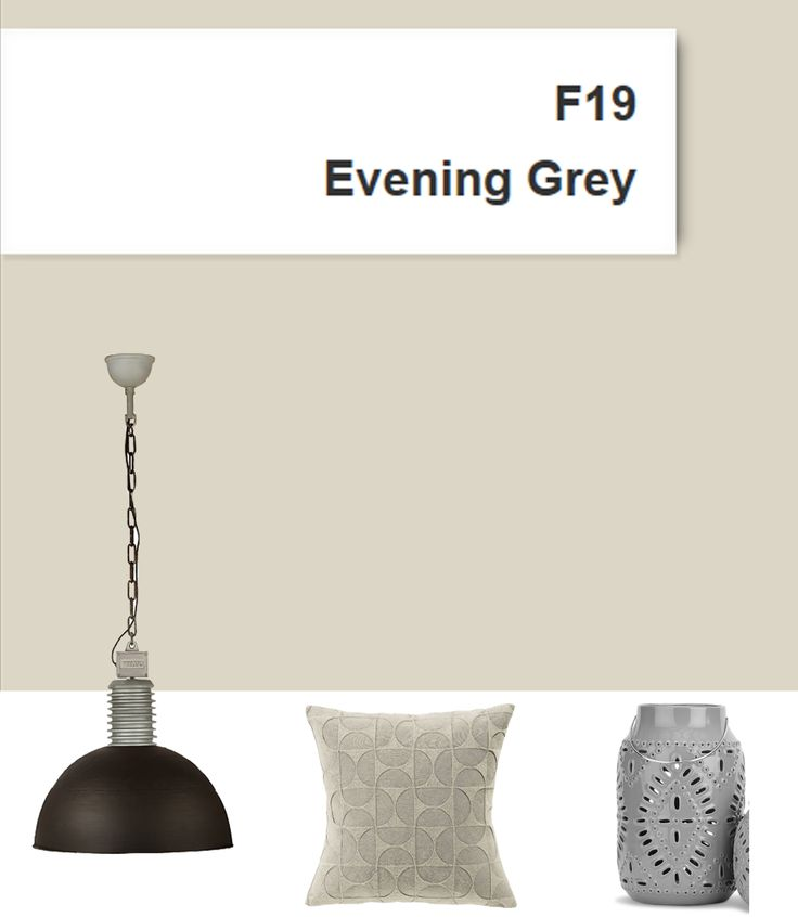 Ressource paintings, the F19 Evening Grey, a beautiful warm light grey.