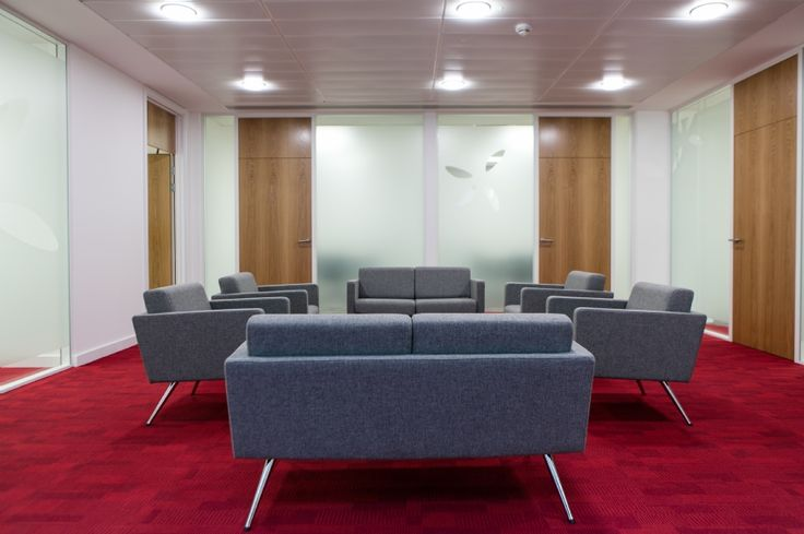 Vwv breakout space corporate office space fit out by for Office design case study