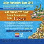 Asian Attractions Expo 2016 – Register Today