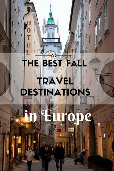 Five travel bloggers share their best fall travel destinations in Europe.