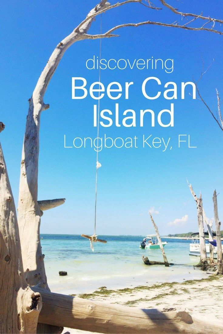Beer Can Island is a beautiful little beach covered in driftwood, located at the very North end of Longboat Key. #itrip #vacationrental #travel