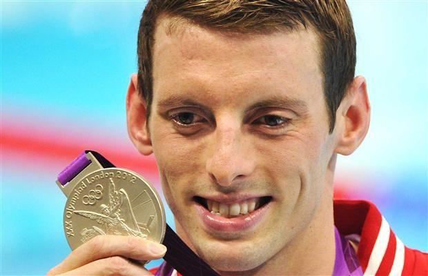 Day 8 (August 4th, 2012) - Silver - Men's 1500 Metre Freestyle (Swimming) - Ryan Cochrane