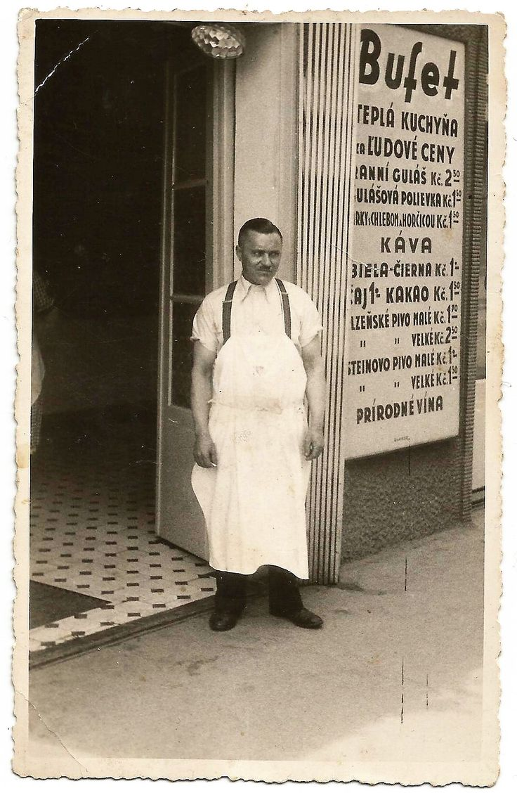 ...well-known shop in the highest building in Bratislava called Manderlak in pre-war II times....