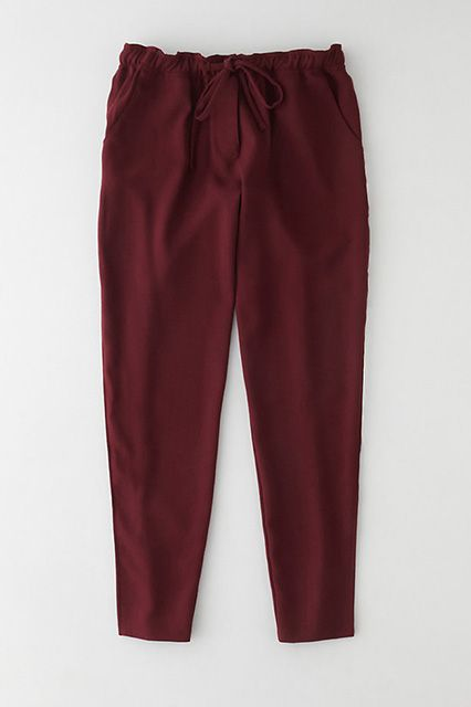 Athletic-like but totally crisp when paired with a blouse and blazer.Steven Alan Zeta Wool Track Pant, $193, available at Steven Alan.From: Spring Trends That Work For Work