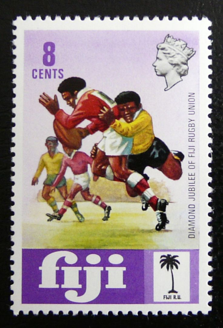 Fiji 1973 - For more #rugby collectables check out my blog: http://www.rocky-rugby.com/