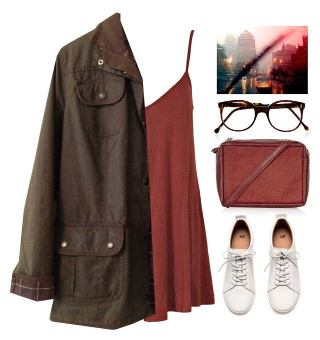 Ahhh... #352 by rayika-rv on Polyvore featuring Barbour, H&M, Topshop and Cutler and Gross